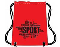 """Сумка для взуття """"CoolForSchool"""" Sport червона №CF85718-03"""