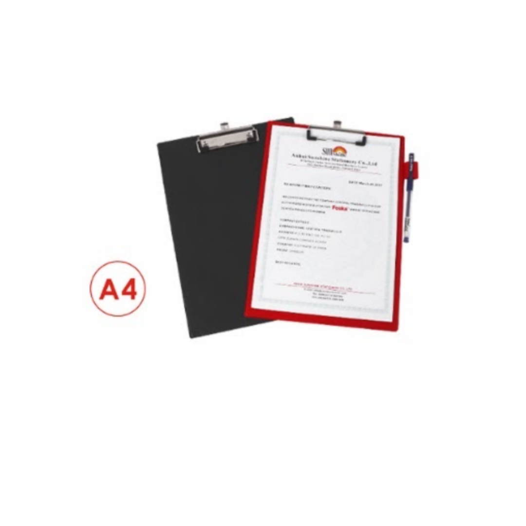 Планшет-папка А4 PVC 160мкм, 2.5 мм Foska