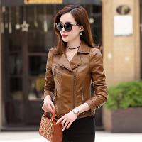 Женская кожаная куртка косуха. Модель 2055, фото 4
