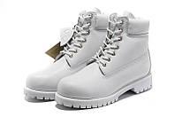 Ботинки мужские Timberland 6-inch Waterproof Boots White, фото 1