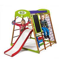 """Детский спортивный уголок для дома """"Карамелька Plus 3"""" ТМ SportBaby, размеры 1.3х1.24х1.32м, фото 1"""