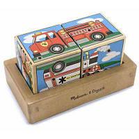 Кубики Melissa&Doug Машинки (MD1272)