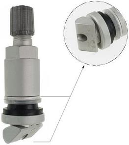 Вентиль под датчик давления TPMS-03 алюминий