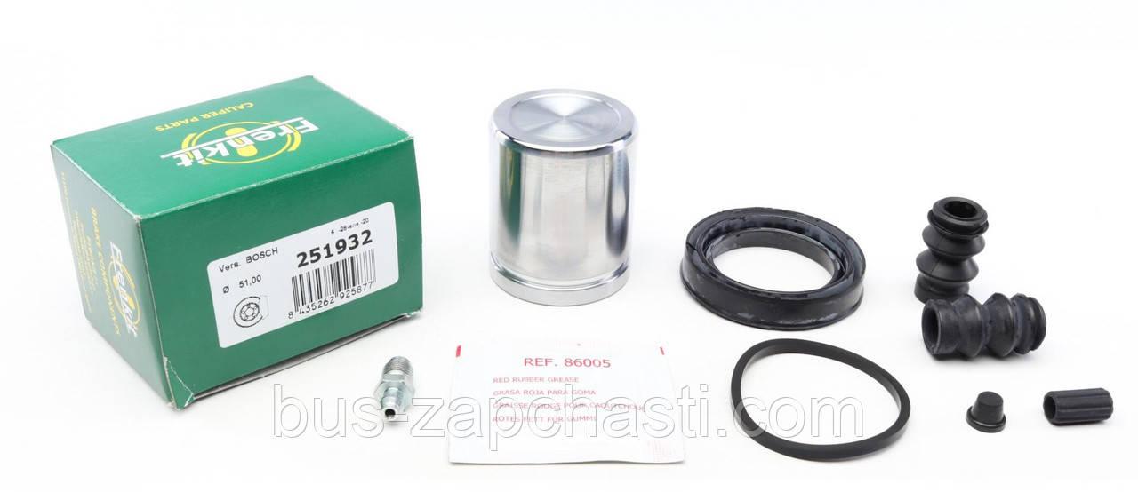 Ремкомплект (заднего) суппорта MB Sprinter 906, VW Crafter 2006→ Bosch (d=51mm) Frenkit (Испания) — 251932