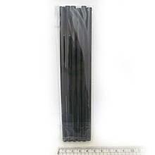 """Клей-стрижень д/пістолету""""Black"""" 18*0.7 див. 6шт/OPP, 0251-BK-1"""