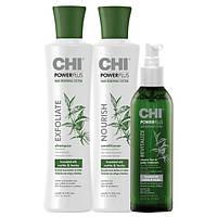 Набор против выпадения волос CHI Power Plus Trio Set