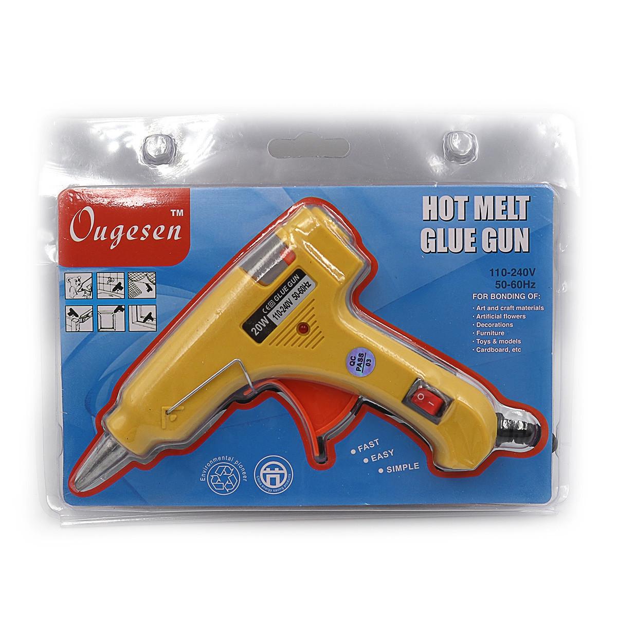 """Пістолет клеєвий """"Glue gun"""", європ.розет 20W, 0.7 см, 1 шт/етик., DSCN0262"""