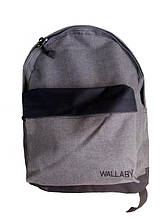 Рюкзак городской серый 021R