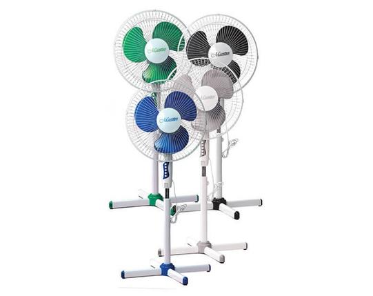 Напольный вентилятор Maestro MR-900, диаметр 40см /60Вт/ 3 пластиковые лопасти, фото 2