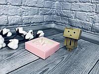 *10 шт* / Коробка для пряников / 100х100х30 мм / печать-Пудра / окно-Бабочка, фото 1