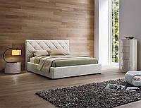 Кровать двуспальная Люкс НЬЮ-ЙОРК без матраса с ящиком для белья (ромбы), фото 1