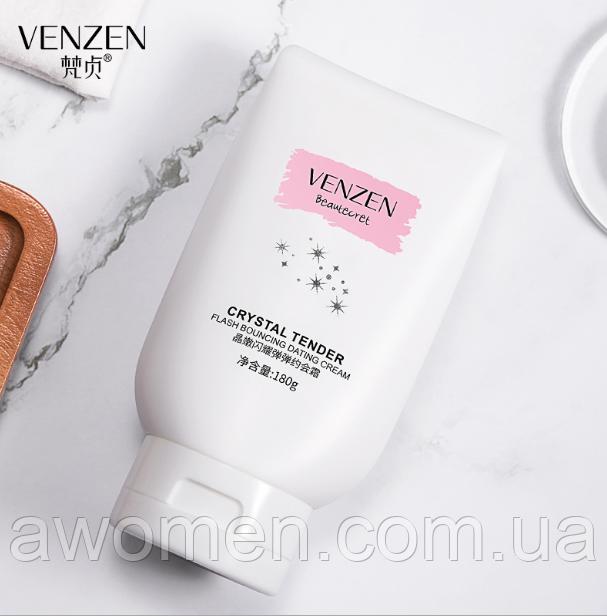 Летний крем для тела Venzen Crystal Tender Flash Bouncine Dating Cream 180 g