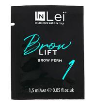 """Перманентний склад In Lei """"Brow Lift 1"""" у саші 1,5 мл для ламінування брів"""