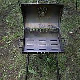 Мангал-барбекю DV - 350 x 350 x 2 мм, горячекатаный   Х09, фото 8
