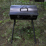 Мангал-барбекю DV - 350 x 350 x 2 мм, горячекатаный   Х09, фото 9