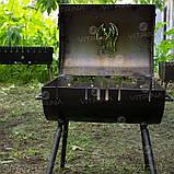 Мангал-барбекю DV - 350 x 350 x 2 мм, горячекатаный   Х09, фото 10