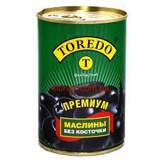 "Маслины ""Торедо Премиум"" 390 г. б/к ж/б"