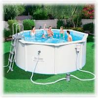 Бассейн каркас Bestway 56563 Hydrium Round Pool Set 300х120 см