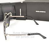 Жіночі сонцезахисні окуляри Dolce & Gabbana Авіатори з поляризацією Стильні Модні 2020 Дольче Габбана копія, фото 4