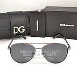 Жіночі сонцезахисні окуляри Dolce & Gabbana Авіатори з поляризацією Стильні Модні 2020 Дольче Габбана копія, фото 7