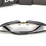 Жіночі сонцезахисні окуляри Dolce & Gabbana Авіатори з поляризацією Стильні Модні 2020 Дольче Габбана копія, фото 5
