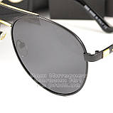 Жіночі сонцезахисні окуляри Dolce & Gabbana Авіатори з поляризацією Стильні Модні 2020 Дольче Габбана копія, фото 2