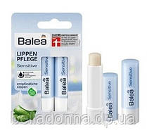 Гигиеническая губная помада бальзам 2 шт. Balea Sensitive Empfindliche Lippen