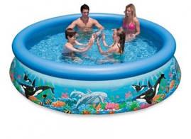 Бассейн надувной Intex 28134 Ocean Reef Easy Set Pool 366*76 см
