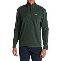 Кофта Eddie Bauer Mens Quest Fleece 1 4-Zip Pullover CAPERS M Серая 0063CR-M, КОД: 271073