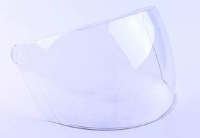 Стекло шлема В201 прозрачное (широкое)