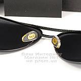 Мужские солнцезащитные очки Dolce & Gabbana Авиаторы Polarized для водителей Поляризационные Дольче реплика, фото 3