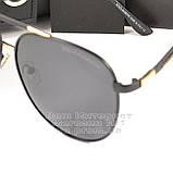 Мужские солнцезащитные очки Dolce & Gabbana Авиаторы Polarized для водителей Поляризационные Дольче реплика, фото 2