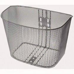 Корзина Basket (металлическая, с покрытием, серебрянная)