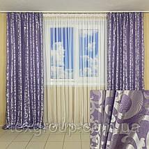 Лёгкие готовые шторы Вензель, фото 2