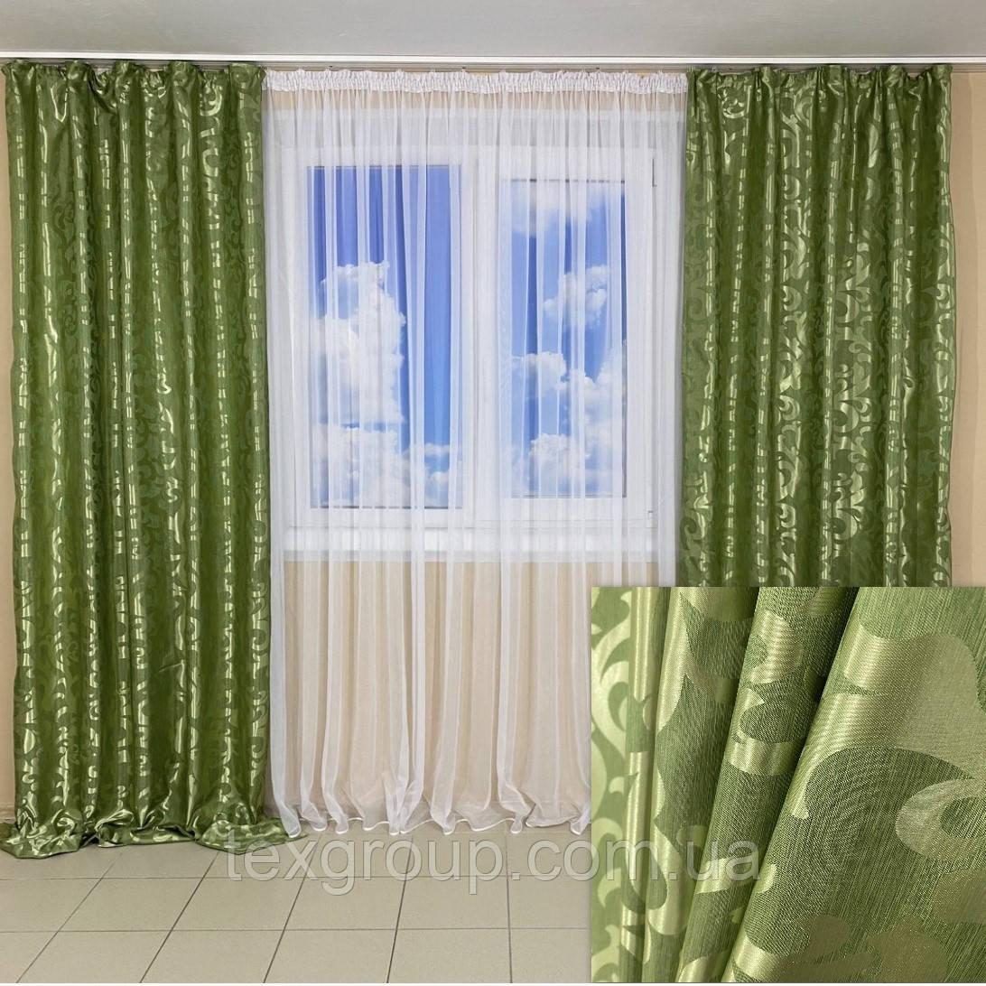 Лёгкие готовые шторы Вензель