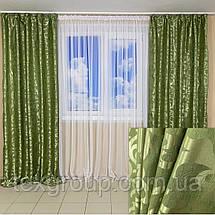 Лёгкие готовые шторы Вензель, фото 3