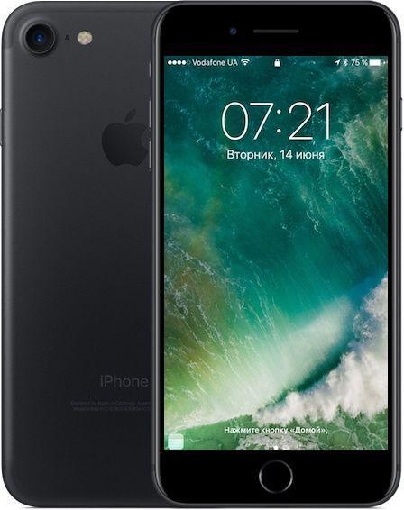 Apple iPhone 7 32GB Matte Black Grade D