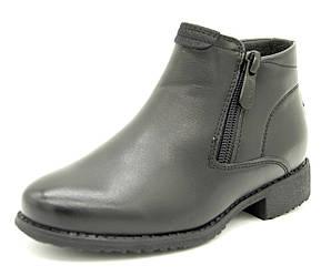 Демисезонные ботинки Cолнце 27 Чёрный C89-2 black 27 19 см, КОД: 1562799