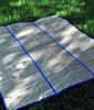 Подстилка пляжная из соломы 180 см x 120 См пляжный коврик сумка, подстилка для пикника
