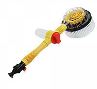Вращающаяся щетка-насадка для шланга насадкиCleaner Roto Brush Щетка с насадкой для шланга, фото 1