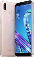 Смартфон с двойной камерой и сканером отпечатка пальца на 2 сим карты Asus ZenFone Max M1 ZB555KL 2/16Gb gold, фото 1