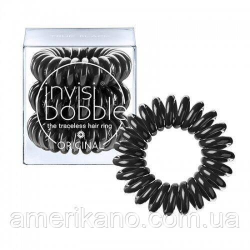 Резинка-браслет для волос Invisibobble. Черная. Оригинал! Бренд Великобритании.