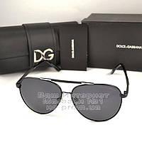 Женские солнцезащитные очки Dolce & Gabbana Авиаторы с поляризацией Стильные Модные 2020 Дольче Габбана копия