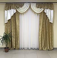 Ламбрекен в кімнату, ламбрекени зі шторами для спальні залу кухні, сучасні шикарні ламбрекени для вітальні, штори в спальню з, фото 3