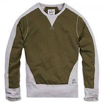Кофта Brandit Liam Sweatshirt Rip S Олива Серый 5014-S, КОД: 691030