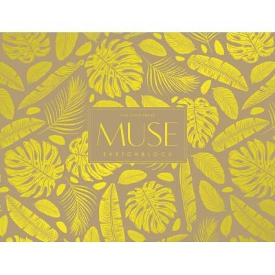 Альбом для эскизов Школярик Muse А4+ PB-GB-040-024 склейка горизонтальная 100 г/м2 40 листов