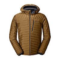 Куртка Eddie Bauer Mens MicroTherm StormDown Hooded TORTOISE S Коричневый 0856TO-S, КОД: 1489451