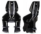 Велокрісло Bellelli LOTUS Італія на багажник Чорне, фото 3