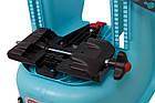 Велокрісло Bellelli LOTUS Італія на багажник Чорне, фото 9