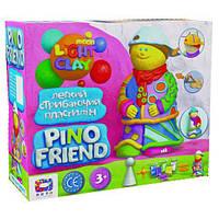 Набор для ребенка легкого прыгающего пластилина Окто ТМ Moon Light Clay Pino Friend Джексон